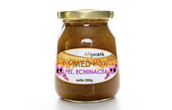 Honey-echinacea-pollen-250g